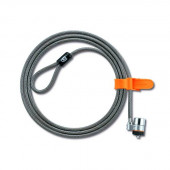 Kensington K67723US MicroSaver Keyed Ultra Laptop Lock (Black/Silver) K67723US