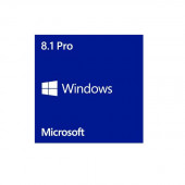 Microsoft Windows 8.1 Pro Operating System 64-bit English (1 Pack), OEM FQC-06950