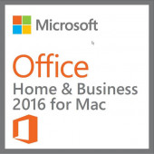 Microsoft Office Home and Business 2016 for MAC English (No Media, 1 License) W6F-00501