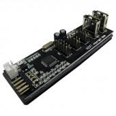 NZXT IU01 Internal USB Expansion IU01  /  ACC-NT-IU01-R