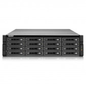 QNAP TS-EC1679U-SAS-RP-US Intel Xeon E3-1245 v2 3.4GHz/ 8GB RAM/ 4GbE/ 16SATA3/ USB3.0/ 16-Bay 3U Rackmount NAS for Enterprise TS-EC1679U-SAS-RP-US