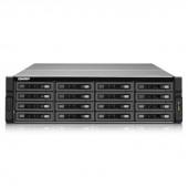 QNAP TS-EC1679U-SAS-RP-US Intel Xeon E3-1245 v2 3.4GHz/ 8GB RAM/ 4GbE/ 16SATA3/ USB3.0/ 16-Bay 3U Rackmount NAS for Enterprise TS-EC1679U-SAS-RP-US