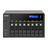 QNAP TVS-871-I3-4G-US Intel Core i3-4150 3.5GHz/ 4GB RAM/ 4GbE/ 8SATA3/ USB3.0/ 8-Bay Desktop NAS for SMBs TVS-871-I3-4G-US