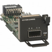 BROCADE 1-port 40 Gbe Qsfp+ Module (for Stacking Or Uplink) ICX7400-1X40GQ