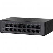 CISCO 16-port 10/100 Poe Desktop Switch SF110D-16HP