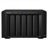 Synology DiskStation DS1515+ Ultra-performance 5-Bay Desktop NAS Optimized for Intensive Tasks and Encryption DS1515+